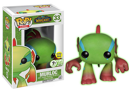 Pop! Games: World of Warcraft - Murloc (Glow In The Dark) - Limitiert auf 300 Stück!