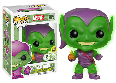 Pop! Marvel: Green Goblin (Glow In The Dark) - Limitiert auf 300 Stück!