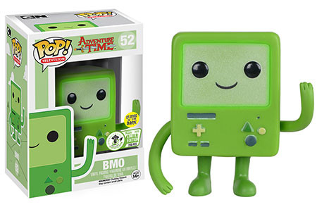 Pop! TV: Adventure Time - Green BMO (Glow In The Dark) - Limitiert auf 250 Stück!